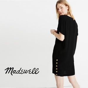 MADEWELL Side-Button Easy Dress 100105